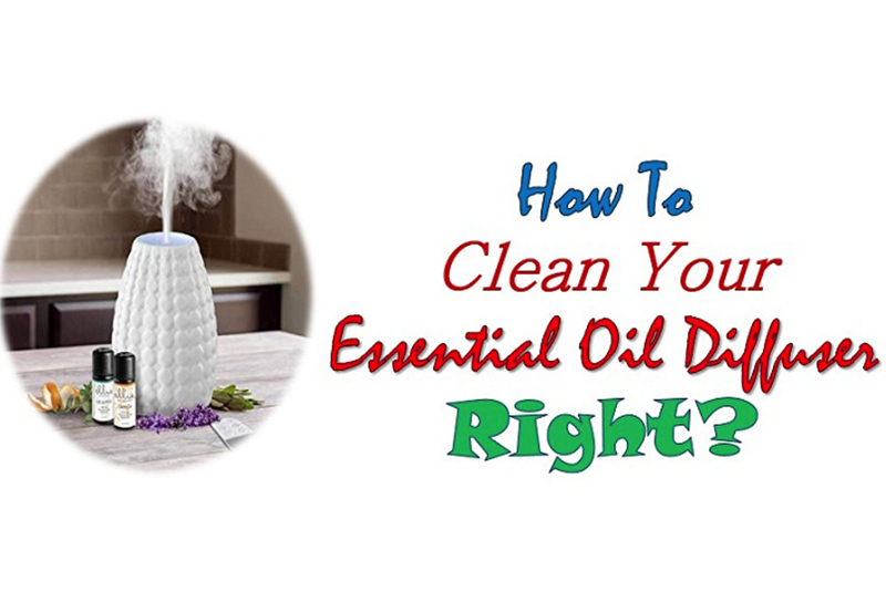How To Clean You're Essential Oil Diffuser RIGHT?